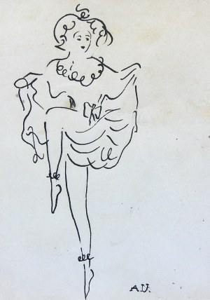 Antoni Uniechowski (1903 Wilno-1976 Warszawa), Tancerka