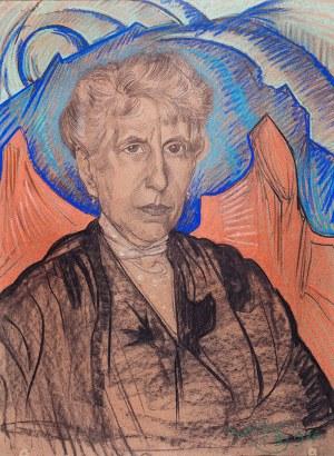 Stanisław Ignacy Witkiewicz (1885 Warszawa - 1939 Jeziory na Polesiu), Portret kobiety
