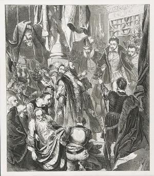 Jan MATEJKO (1838-1893), Śmierć Wapowskiego