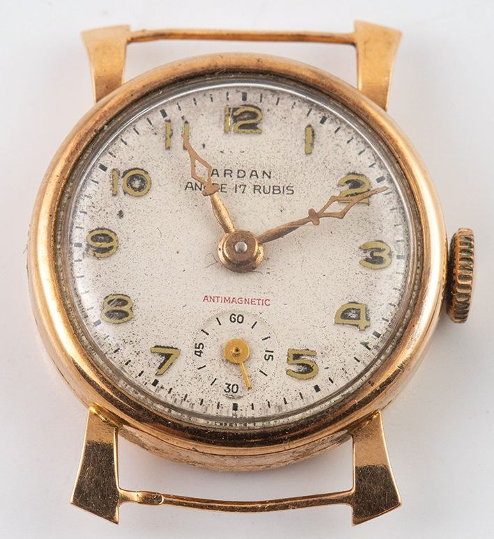 18k 0 750 184 zegarek damski antyk