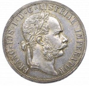 Austria, Franciszek Józef I, 2 floreny 1876, Wiedeń