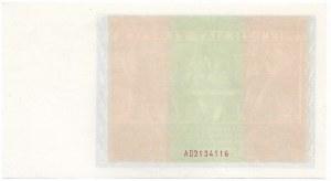 II RP, 50 złotych 1936 - nieukończony druk