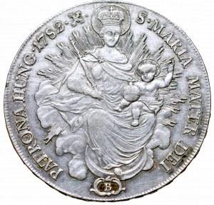 Węgry, Józef II,Talar 1782 B, Krzemnica