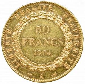 Francja, 50 franków 1904, Paryż