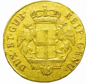 Włochy, Republika Genui, 24 liry 1795