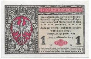 II RP, 1 marka polska 1916 Jenerał Ser. A