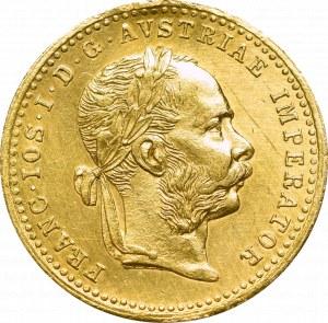 Austria, Franciszek Józef, Dukat 1887
