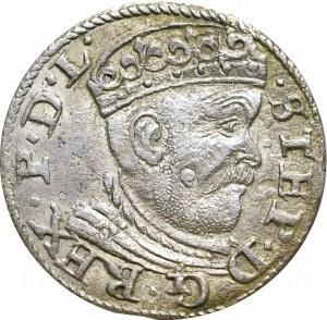 Stefan Batory, Trojak 1585, Ryga - nieopisany RI:/:GE