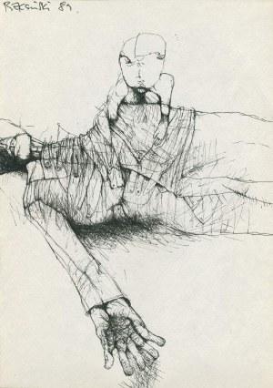 Zdzisław Beksiński, Bez tytułu, 1989