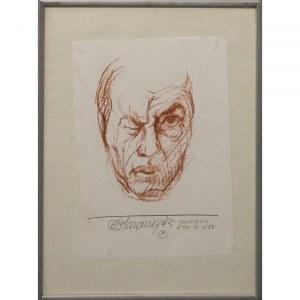 Franciszek Starowieyski, Autoportret, 1988