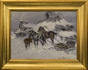 Czesław Wasilewski, Konie ciągnące zaprzęg