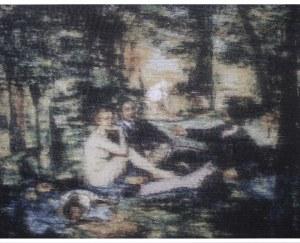 Bartosz Czarnecki (ur. 1988) - Édouard Manet - śniadanie na trawie, 2018