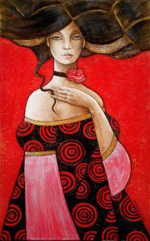 Joanna Misztal (1967), Ciepły zapach czerwieni (2016)