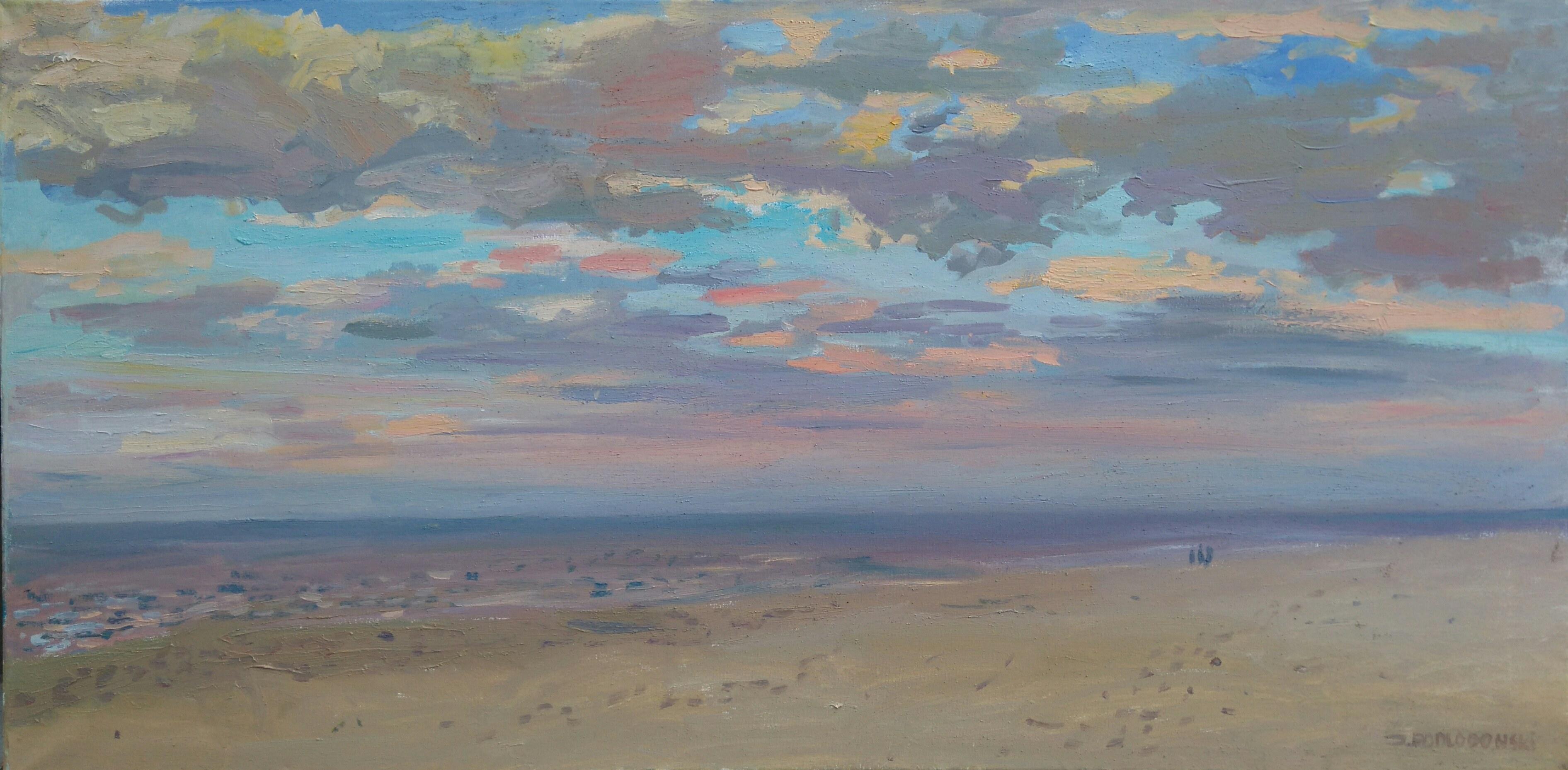 Jakub Podlodowski, Zachód słońca nad morzem