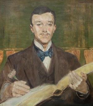 Jacek Malczewski (1854 Radom - 1929 Kraków), Portret Karola Potkańskiego, 1900 r.