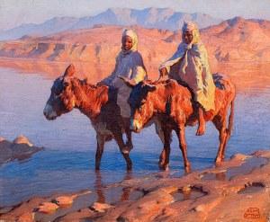 Adam Styka (1890 Kielce-1959 Nowy Jork), Przekroczenie wadi