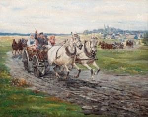 Karol Wierusz-Kowalski (1869 Warszawa - 1953 Poznań), Zaprzęg