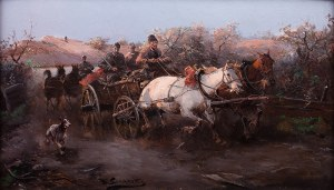 Jan Konarski (1850-1918), Jazda!