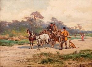 Tadeusz Rybkowski (1848 Kielce – 1926 Lwów), Na drodze