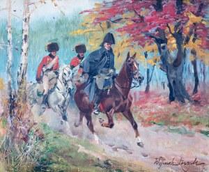 Wojciech Kossak (1856 Paryż - 1942 Kraków), Jeźdźcy