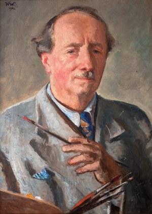 Wojciech Weiss (1875 Leorda na Bukowinie - 1950 Kraków), Autoportret, 1940 r.