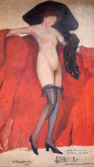 Henryk Szczygliński (1881 Łodź - 1944 Warszawa), Lorietta w swoim repertuarze, 1905 r.