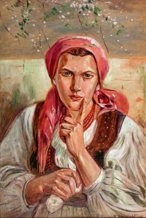 Wincenty Wodzinowski (1866 Igołomnia k. Miechowa - 1940 Kraków), Dziewczyna