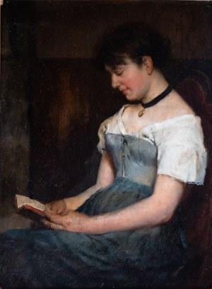 Malarz nieokreślony (XIX w.), Czytająca