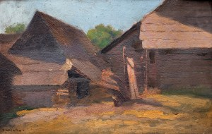 Bronisława Rychter-Janowska (1868 Kraków - 1953 tamże), Chaty, przed 1906 r.