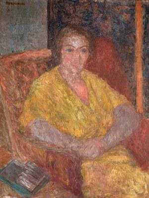 Czesław Rzepiński (1905 Strusowa k. Trembowli - 1995 Kraków), Portret kobiety