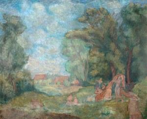 Eugeniusz Geppert (1890 Lwów - 1979 Wrocław), Idylla