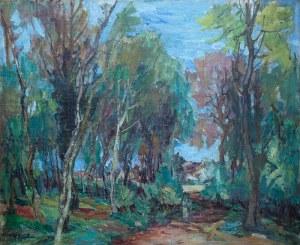 Henryk Epstein (1891 Łódź - 1944 Auschwitz), Skraj lasu, ok. 1935–1940