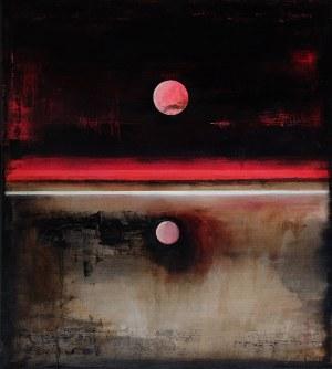 Magdalena DANIEC (ur. 1974), Podwójne zaćmienie księżyca, 2018