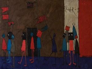 Edna ROSEN (ur. 1940), Never again, 1994