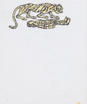 Roman OPAŁKA (1931-2011), Tygrys, Ilustracja do książki Roberta Stillera