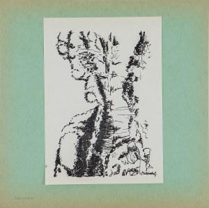 Jadwiga MAZIARSKA (1916-2003), Kompozycja, 1963