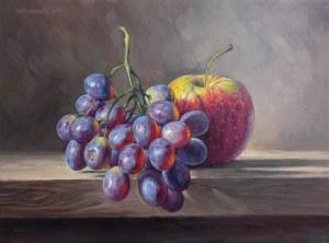 Piekarski Wojciech, Martwa natura z winogronami
