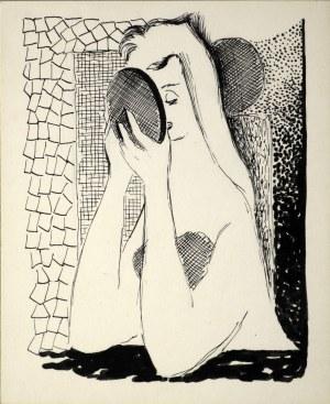 Marian Bogusz - Kobieta przed lustrem