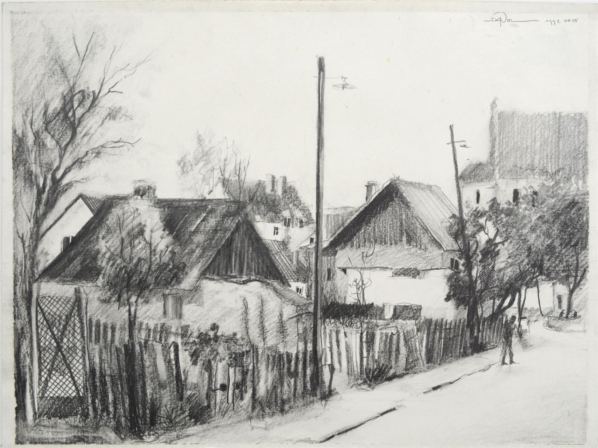 Daniel de Tramecourt - Kazimierz Dolny, 1992