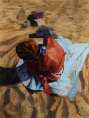 Ewa Staśkiewicz, Basia na plaży Stogi