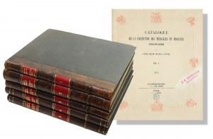 Emeryk hr. Hutten Czapski, Catalogue de la Collection des Medailles et Monnaies Polonaises, Vol I-V