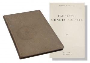 Henryk Mańkowski, Fałszywe Monety Polskie, Poznań 1930