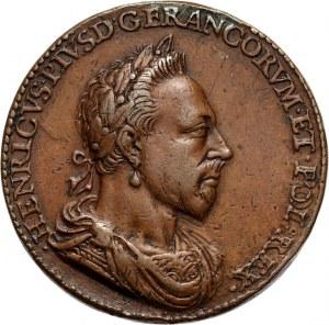 Henryk Walezy, pośmiertny medal z 1627 roku, autorstwa Pierre Regnier'a