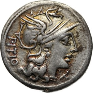 Roman Republic, L. Sempronius Pitio, Denar 148 BC, Rome