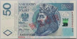 III RP, 50 złotych 5.01.2012, Seria AA 0000000