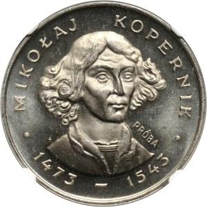 PRL, 100 złotych 1973, Kopernik - mała głowa, PRÓBA, nikiel