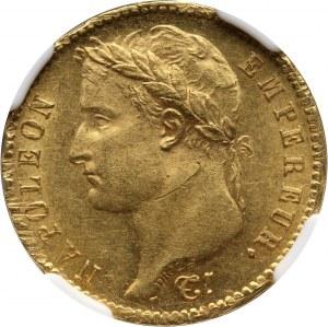 Francja, Napoleon I, 20 franków 1808 A, Paryż