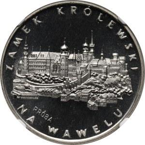 PRL, 100 złotych 1977, Zamek na Wawelu, PRÓBA, nikiel