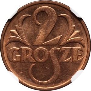 II RP, 2 grosze 1937, Warszawa