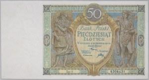 II RP, 50 złotych 28.08.1925, seria X